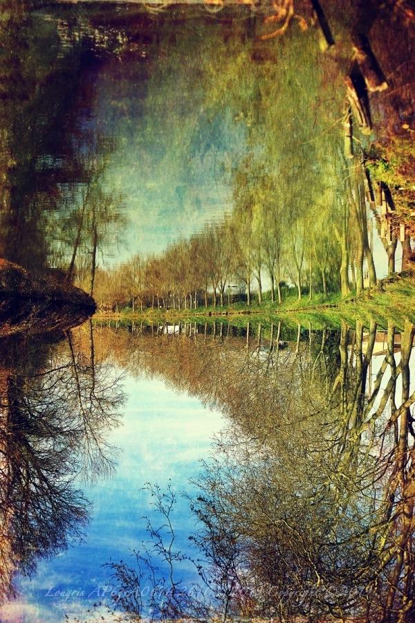 Miroir au canal.