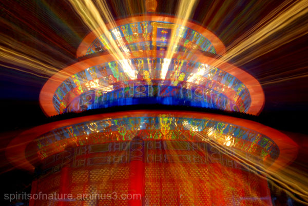 """China Festival of Lights """"Temple (1)"""""""