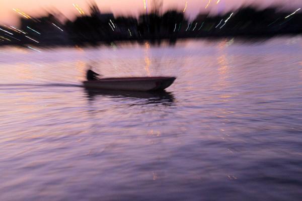 Sunset & Speed Boat