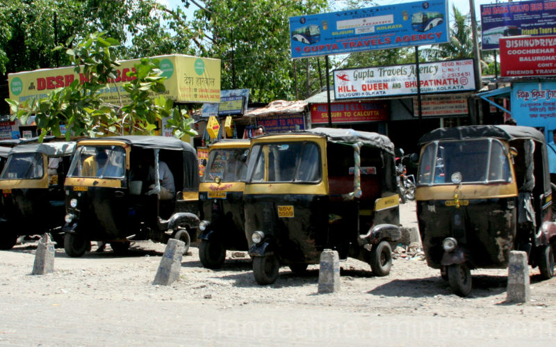 Auto rickshaws in Siliguri