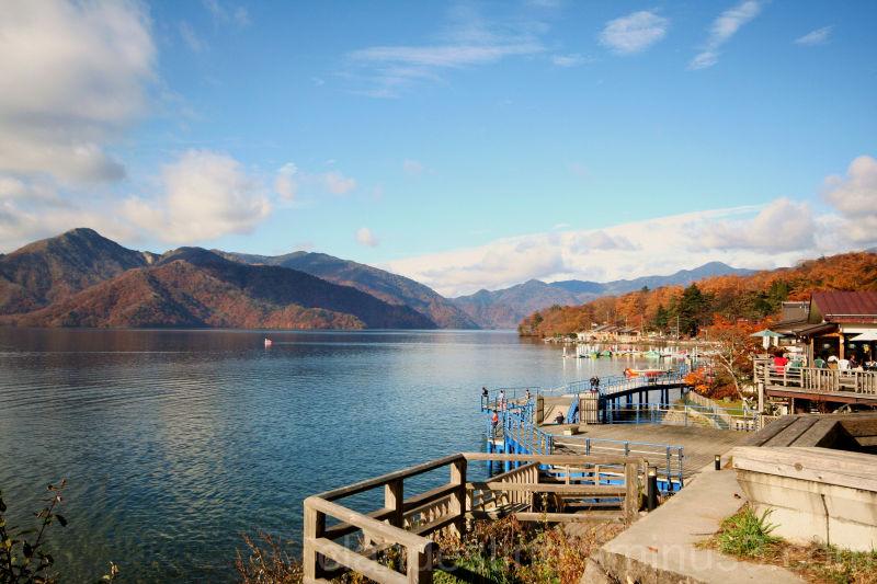 Chuzenji Lake in Autumn
