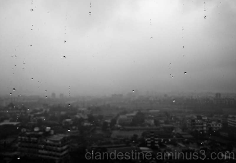 Rainy day in Mumbai