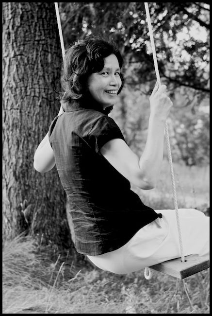 Mommy on a Swing