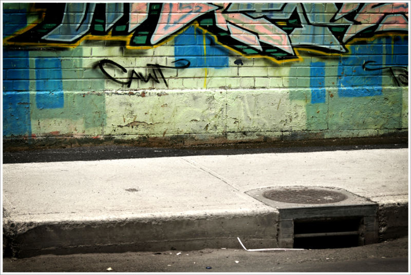 Les graffitis de la rue Sainte-Catherine