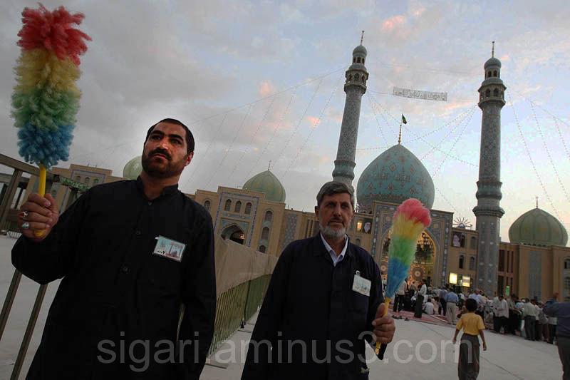 خادمین زحمت کش مسجد مقدس جمکران