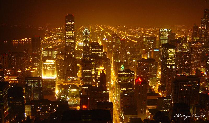 Chicago- Vista nocturna
