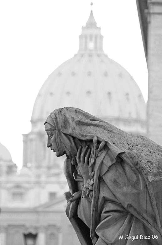 Roma. Entrando en la Plaza del Vaticano.2006