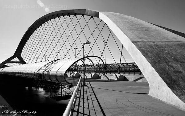 Puente del tercer milenium (2). Zaragoza