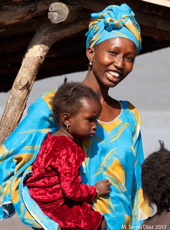 Retrato de madre con niño