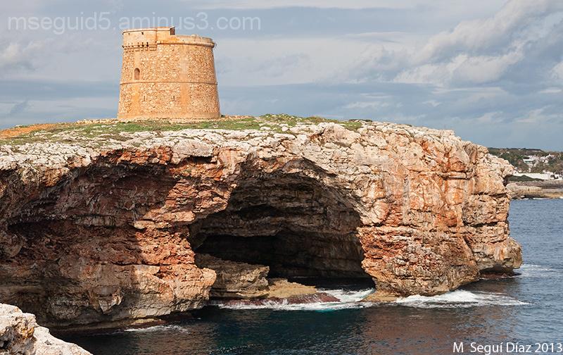 Torre  des Morro d´Alcalfar (Menorca)