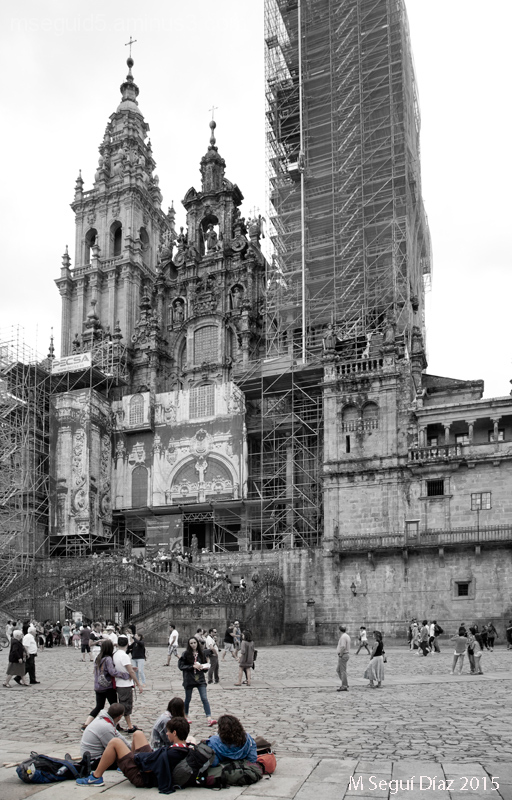 Descanso del peregrino (Santiago de Compostela)