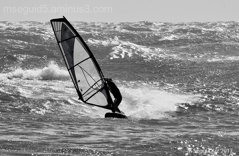 Windsurf en Punta Prima (Menorca)