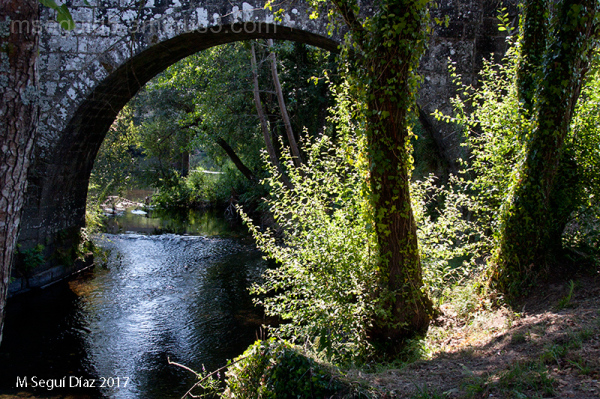 """A Ponte de Pontevea """"ponte Abea"""" -Galicia"""