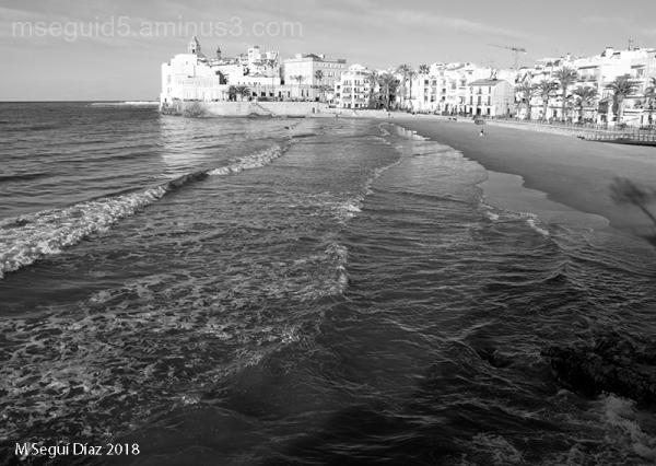 Perspectiva de Sitges (Barcelona)