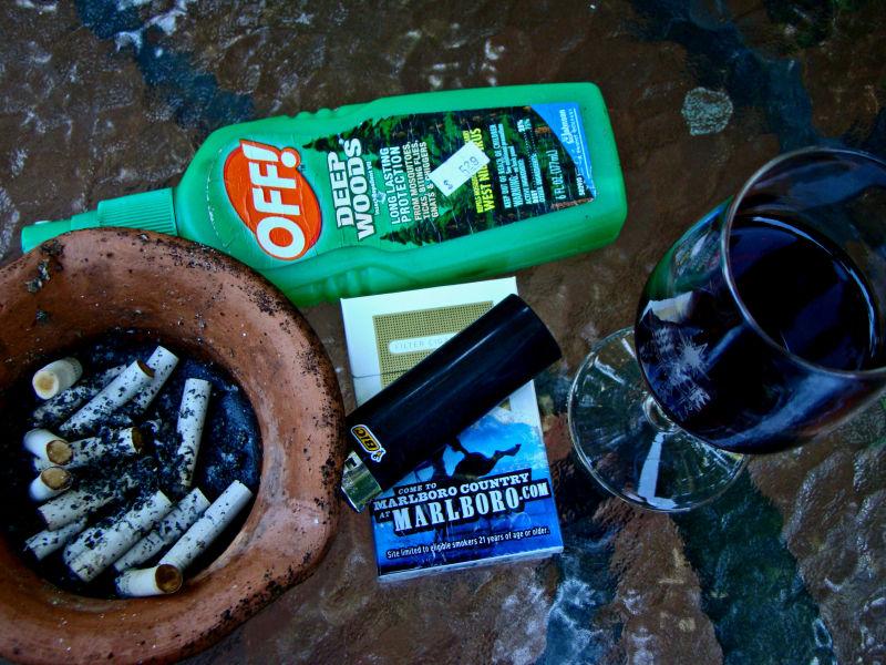 marlboro wine, mosquitos repellent