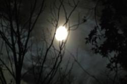 eerie moon