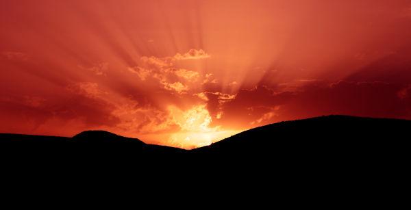 glory of the sunset