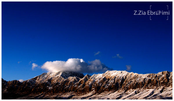 wintry mountains(Sirch_Kerman_Iran)