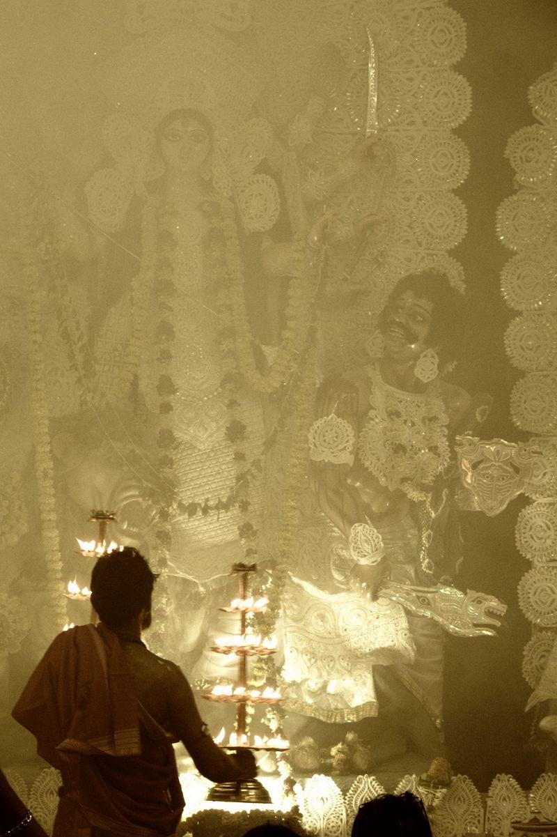 Appeasing Durga