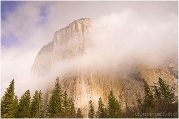 Clearing storm magic, ElCapitan, Yosemite, CA