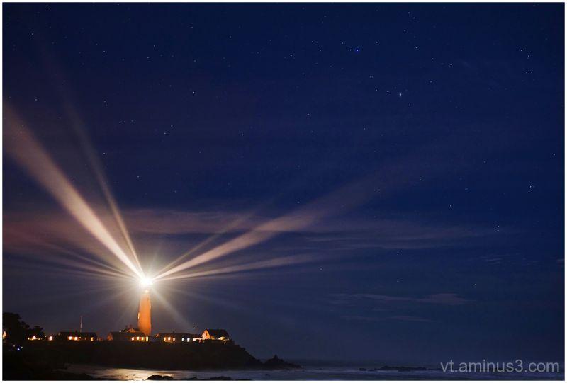 Annual Lighting, Pigeon Point, San Mateo Coast, CA