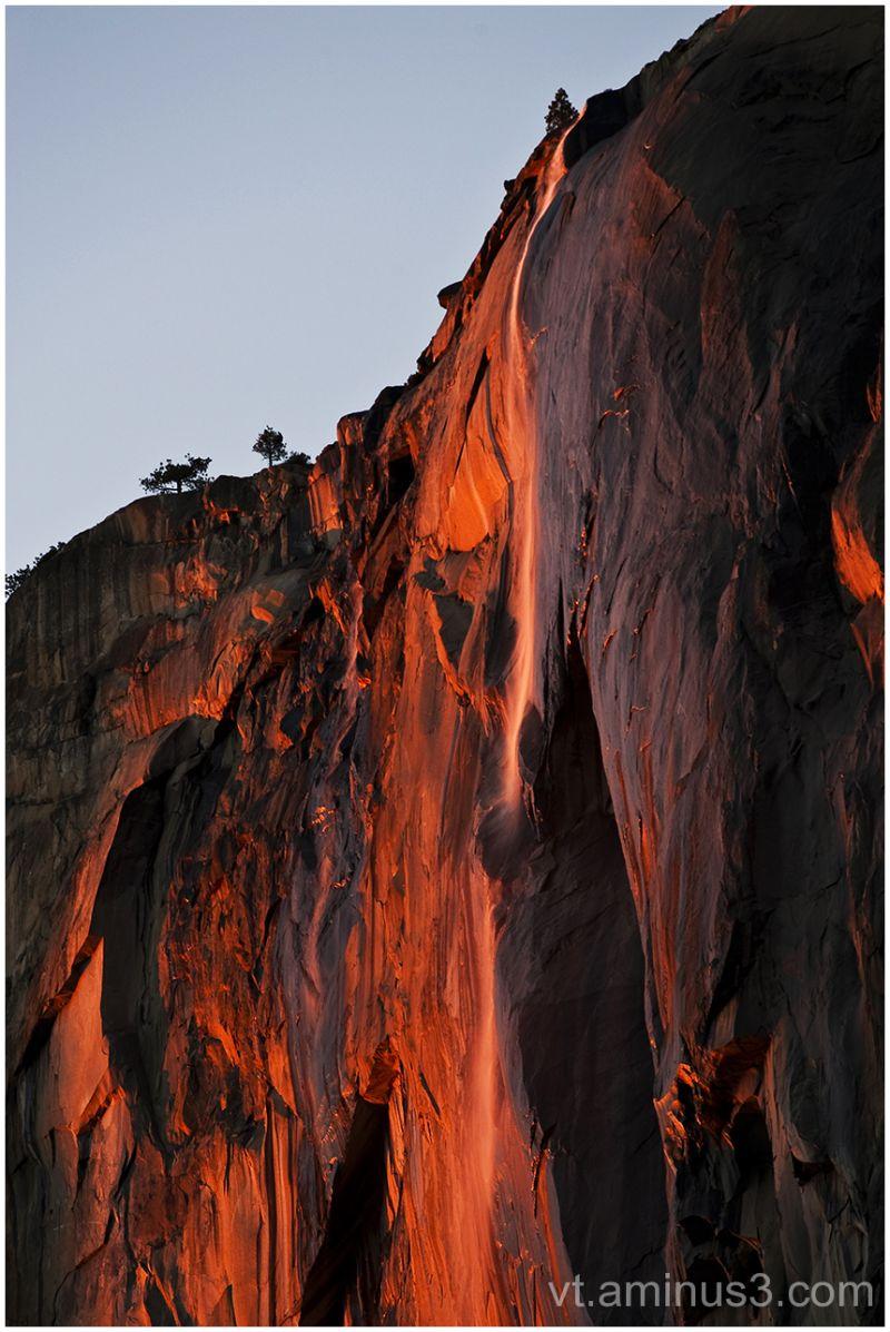 Magical Light, Horsetail Waterfall, Yosemite, CA
