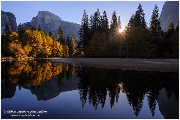Fall Sunrise, Yosemite National Park, CA