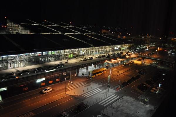 Stutgard Germany Airport Night