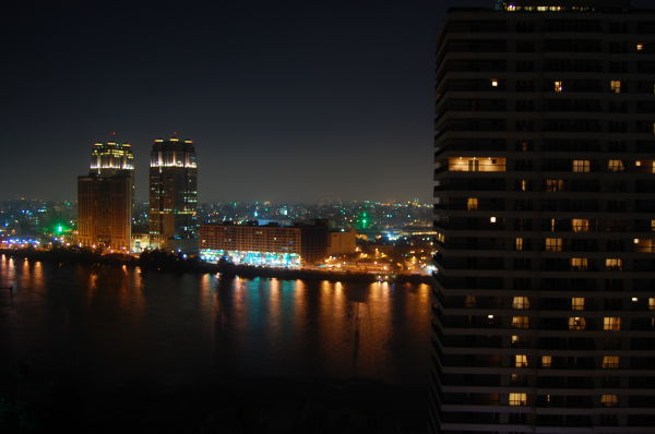 night time in cairo