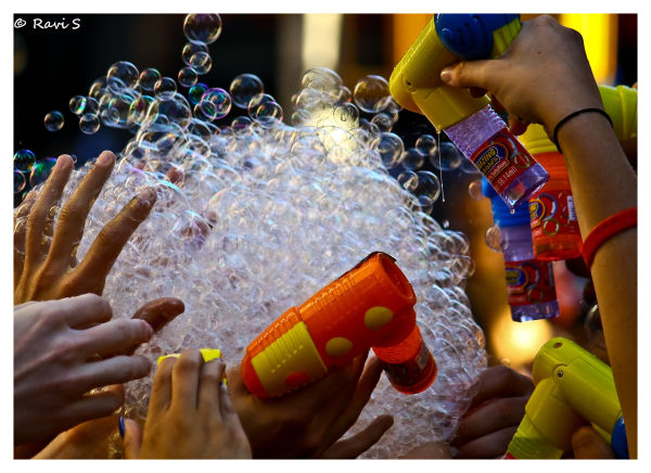 Bubble Huddle