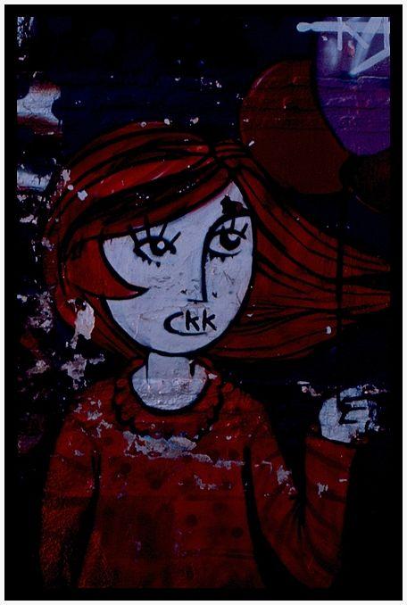 CKK en el Albaicin de Granada graffiti