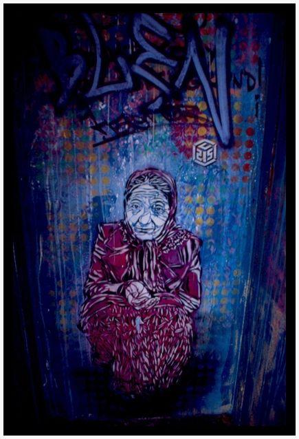 La Mendiante de Galieni (C215), Paris, dec-2009