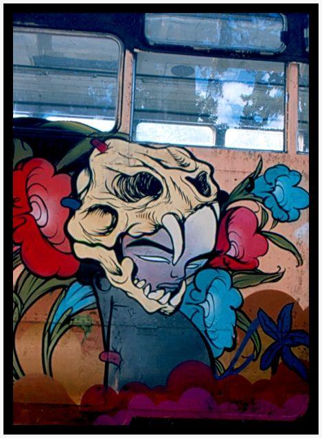 Fleur de bus / Flor de camión