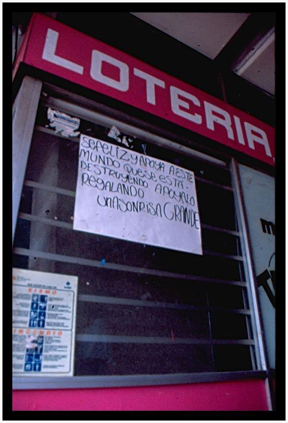 Lotería/Loterie (México D.F, junio 2010)