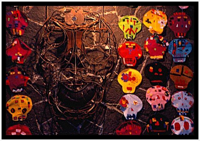 Las Mascaras de la Muerte/Les masques de la Mort