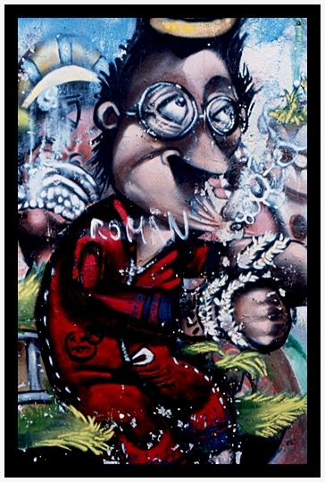El graffiti en México: Román