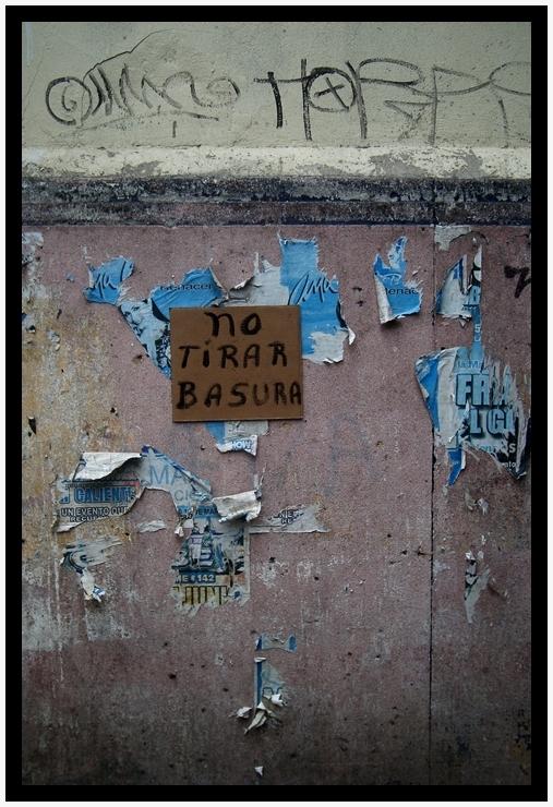 *No tirar basura* (Mexican curious II)
