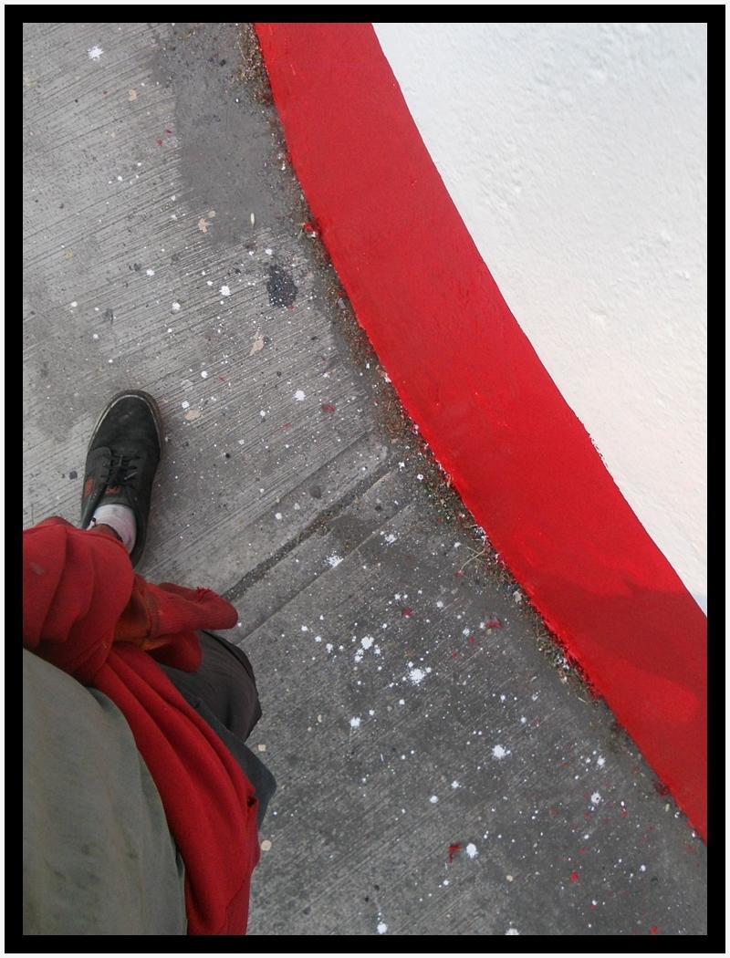 En contournant les extremes rouges (EL CAMINANTE)