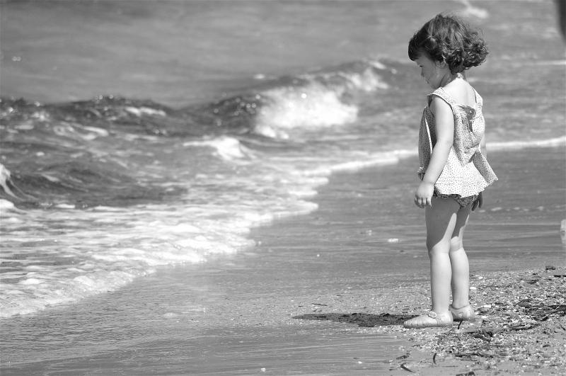 la mer et l'enfant