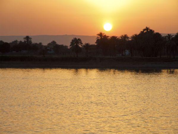 posta de sol al Nil