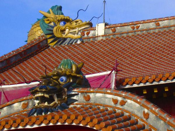 El Castell de Shuri i alguns dels seus dracs