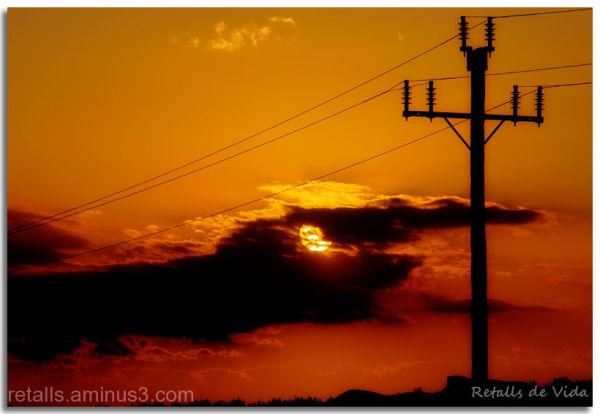 Joc de llums: solar i elèctrica
