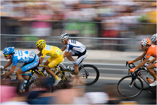 Contador in the final stage...