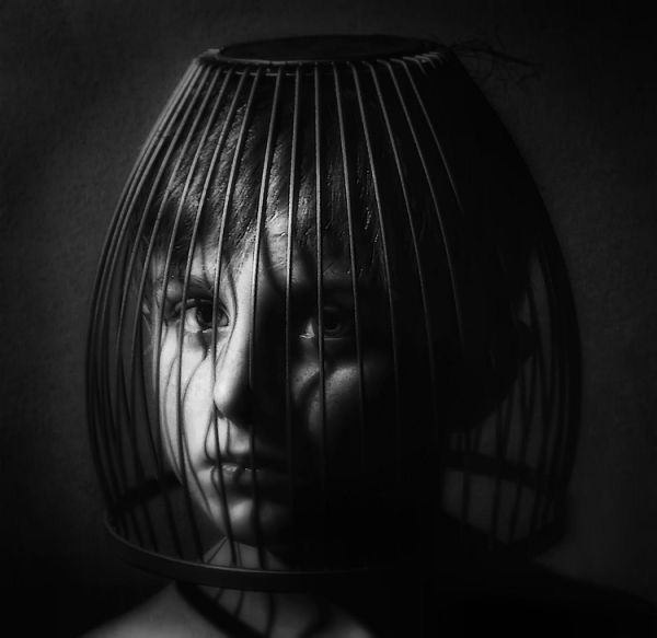 caged child
