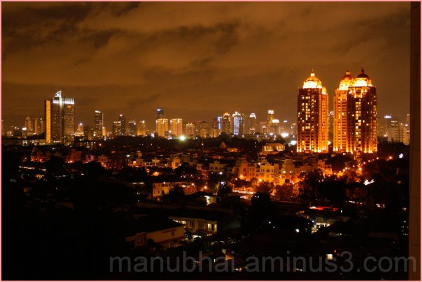 Indonesia View - From my friends Balcony