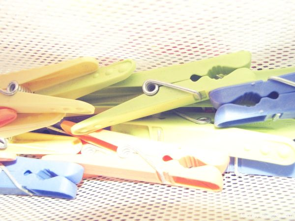 -- Clothes pegs --