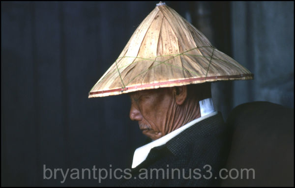 China man taking nap