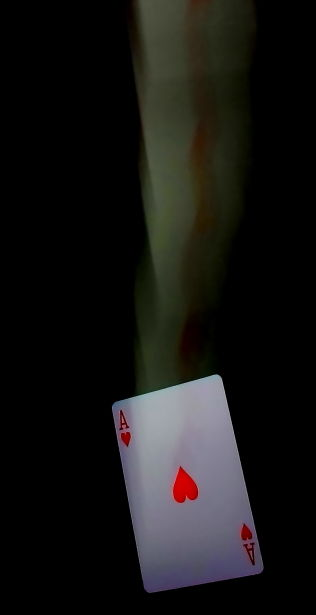 ace card falling slow sync