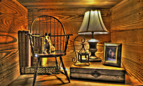 hdr high dynamic range books lamp picture chair