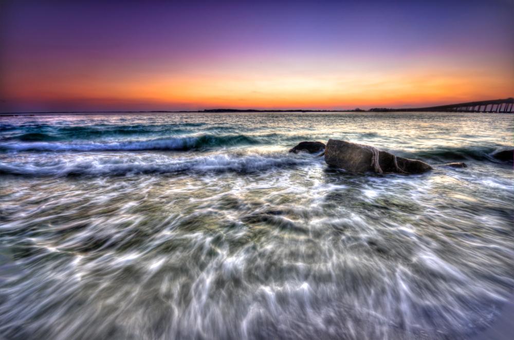long exposure waves in destin florida